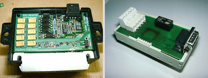 Prototype blower control unit for electric vehicle & Interface for wafer saw
