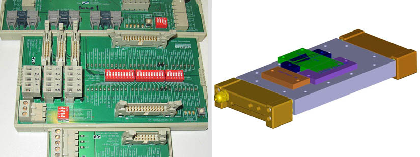 Various adapter cards & Multi Power Modul - Multi Power module - heat plate
